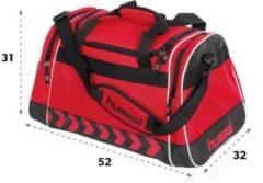 Hummel Sporttas - 52 x 32 x 31cm - rood/zwart