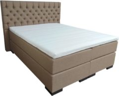 Boland Party Products Slaaploods.nl Princess - Elektrische Boxspring inclusief matras - 200x210 cm - Beige/Zand