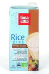 Lima Rice drink hazelnoot amandel 1000 Milliliter