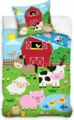 CharactersMania Kinderboederij Dekbedovertrek Farm Dieren Animal