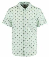 America Today regular fit overhemd Iver van biologisch katoen sage