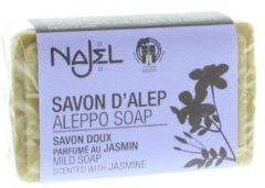 Zwarte Alepeo Aleppo Najel Jasmijn Zeep (100 gram)