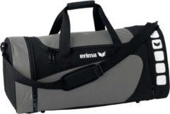 Grijze Erima Sporttas Club 5 Line Grijs/zwart 49,5 Liter