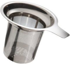 Metaltex Theezeef 12 X 9,5 Cm Rvs Zilver