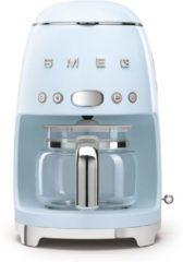 Blauwe Smeg DCF02PBEU koffiezetapparaat Aanrechtblad Filterkoffiezetapparaat 1,4 l