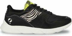 Q1905-Quick Dames Sneaker Hillegom - Zwart/Multi