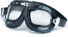 Redbike navigator pilotenbril zwart - helder glas