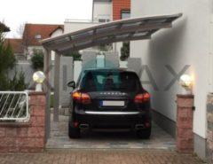 Ximax Portoforte 80 Carport Edelstahl-Look