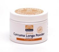 Mattisson Geelwortel Curcuma Longa Poeder - Kurkuma - 125 gram
