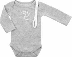 Baby de Luxe Rompertje l/m licht grijs 3-6 mnd