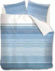 Blauwe Riviera Maison Rivièra Maison Destination - Dekbedovertrek - Lits-jumeaux - 240x200/220 cm + 2 kussenslopen 60x70 cm - Blue