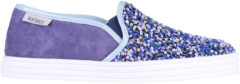 Hogan Rebel Slip on donna in camoscio sneakers paillettes