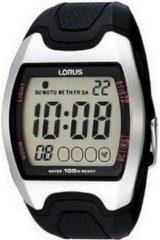 Zwarte Lorus digitaal horloge R2327CX9
