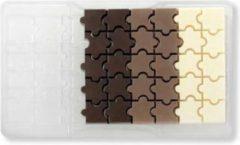 Transparante Chocolade mal puzzel - Decora