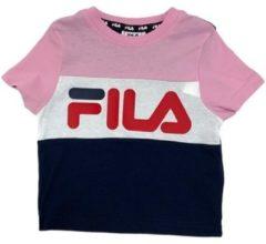 Roze T-shirt Korte Mouw Fila 688023