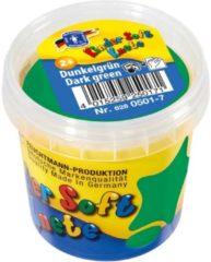 Donkergroene Feuchtmann Kinder Soft Knete Basic Klei 150 gram Donker Groen