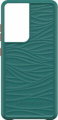 LifeProof WAKE Samsung Galaxy S21 Ultra Back Cover Groen