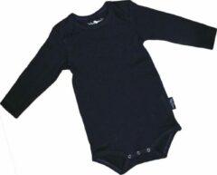 Blauwe MiniBasics Baby Rompertje Envelophals 74