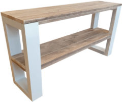 Bruine Wood4you - Wandtafel NewOrleans 160Lx78HX38D cm