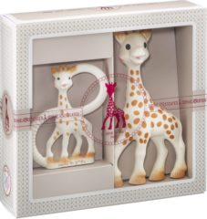 Huidskleurige Sophie la Girafe Sophiesticated The Teether Set