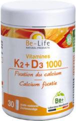 Be-Life K2 D3 1000 Calcium Fixaties