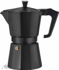 Bialetti Voccelli Moka Express - koffiepotje - caffettiera - 3 kopjes - zwart