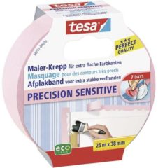 Tesa 56261 56261 Schilderstape tesa Roze (l x b) 25 m x 38 mm 1 rol/rollen