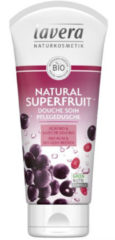 Lavera Douchegel/body wash natural superfruit F-D 200 Milliliter