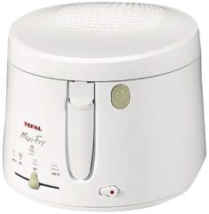 Tefal FF 1000 Friteuse Maxi Fry FF 1000, Kapazität 1,2kg oder 2 Liter, 1900 Watt, weiß, weiß (1 Stück)