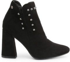 Zwarte Xti - Enkel laarzen - Vrouw - 33935 - Black