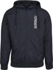 FitProWear Regenjas / Windjas Heren - Maat S - Donkerblauw - Seizoensjas - Regenjas - Windjas - Sportjas - Hardloopjas - Jacket - Jas Nylon - Herfstjas - Voorjaarsjas
