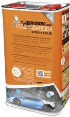 Rode Universeel Foliatec Car Body Spray Film (Spuitfolie) - racing rood metallic mat 1x5liter bus