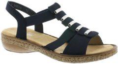 Rieker sandaal, Sandalen, Dames, Maat 39, blauw