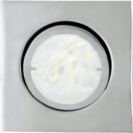 Afbeelding van Eckige LED-Einbauleuchte Joanie, chrom