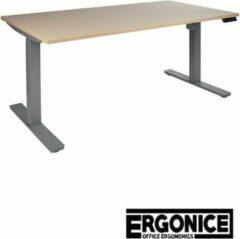 Antraciet-grijze Desk4succes Elektrisch zit/sta bureau