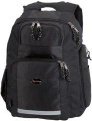 Zwarte Lightpak Juescha laptoprugzak Safepack