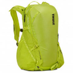 Thule - Upslope 25 - Toerskirugzak maat 25 l, geel/groen