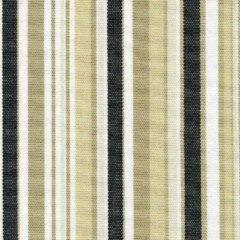 Acrisol Bali Negro wit, bruin, creme zwart gestreept 1020 stof per meter buitenstoffen, tuinkussens, palletkussens
