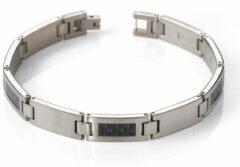 Zilveren Boccia Titanium 0333-01 Armband - Titanium - Zilverkleurig