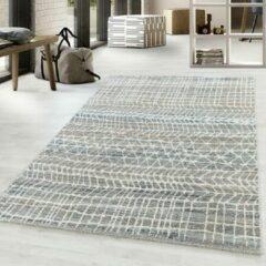 Royal Parma Design Vloerkleed Laagpolig Bruin Grijs- 140x200 CM