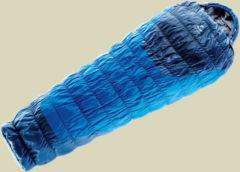 Deuter Exosphere +2° L dehnbarer Kunstfaserschlafsack bis Körpergröße 200 cm cobalt-Steel, links