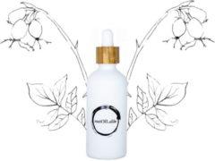 SustOILable Rozenbottelolie - glazen pipet flesje 50ml (navulbaar en plasticvrij verpakt)