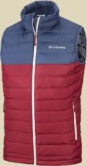 Columbia Powder Lite Vest Men Herrenweste Größe L red element-dark mountain