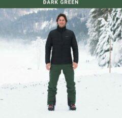 Cortazu Mountain Shell Broek Donker Groen | Heren warme outdoor wintersport broek waterdicht & winddicht.