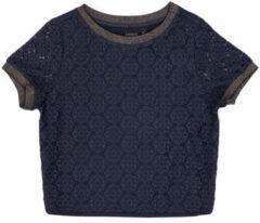 Blauwe Blouse Ikks CLOTHILDE