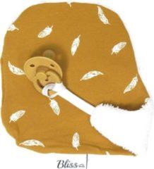 Gele Speendoekje - Knuffeldoekje - Wallabiezzz - Veer Mosterd