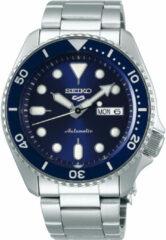 Seiko 5 Sports SRPD51K1 herenhorloge Automaat blauwe wijzerplaat 42,5 mm