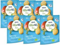 NaturNes Bio NaturNes® Bio Appel koekje 10+ mnd baby koekjes biologisch - 6 stuks