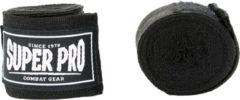 Super Pro Combat Gear Semi-Elastische Bandages - Zwart - 250 cm