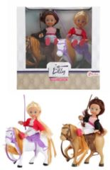 Toitoys Toi-toys Minipop Met Paardjes Lilly Junior Beige 4-delig